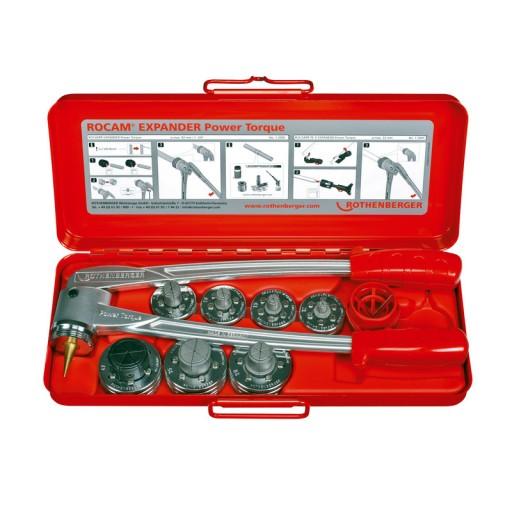 Rothenberger ROCAM EXPANDER  SET 12 - 16 - 18 - 22 - 28 mm - za razširjanje in kalibriranje cevi