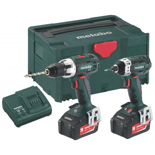 Metabo Combo 2.1.1 18 VBS 18 LT + SSD + MetaLoc 3