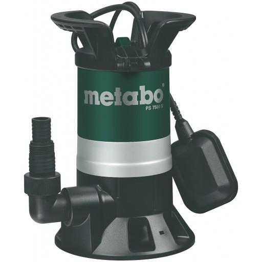 Metabo PS 7500 S potopna črpalka za umazano vodo