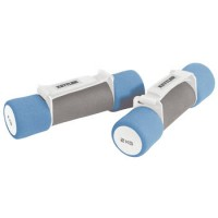 Ročke za aerobiko Kettler 2 x 2,0 kg modro/siva