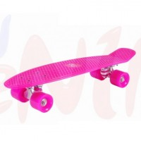 Retro skateboard Hudora PINK
