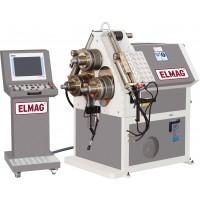Elmag Trivaljčni uvijalni stroj za uvijanje profilov, hidravlični APK 61