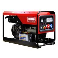 ElmagSED 10000WDE - Elektro agregat z Lombardini motorjev 25LD425