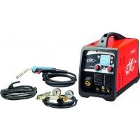 Elmag Multifunkcijski varilni inverter ETP 220 SynPuls MIG/MAG, Elektrodno, WIG DC-ALU+JEKLO SET