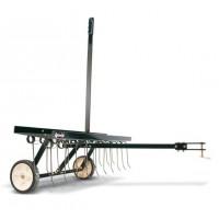 Vlečeni rahljalnik za parkovne traktorje 102cm