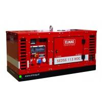 Elmag SEDSS 113WDE - Elektro agregat  s KUBOTA motorjem D722