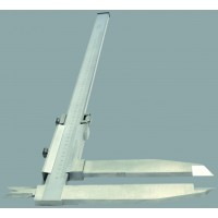 Elmag Precizno pomično merilo 500 mm, DIN 862