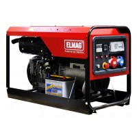 Elmag SED 14000WDE - Elektro agregat z Lombardini motorjev 12LD477