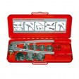 Rothenberger ROCAM EXPANDER  SET 10 - 12 - 16 - 22 - 28 mm - za razširjanje in kalibriranje cevi